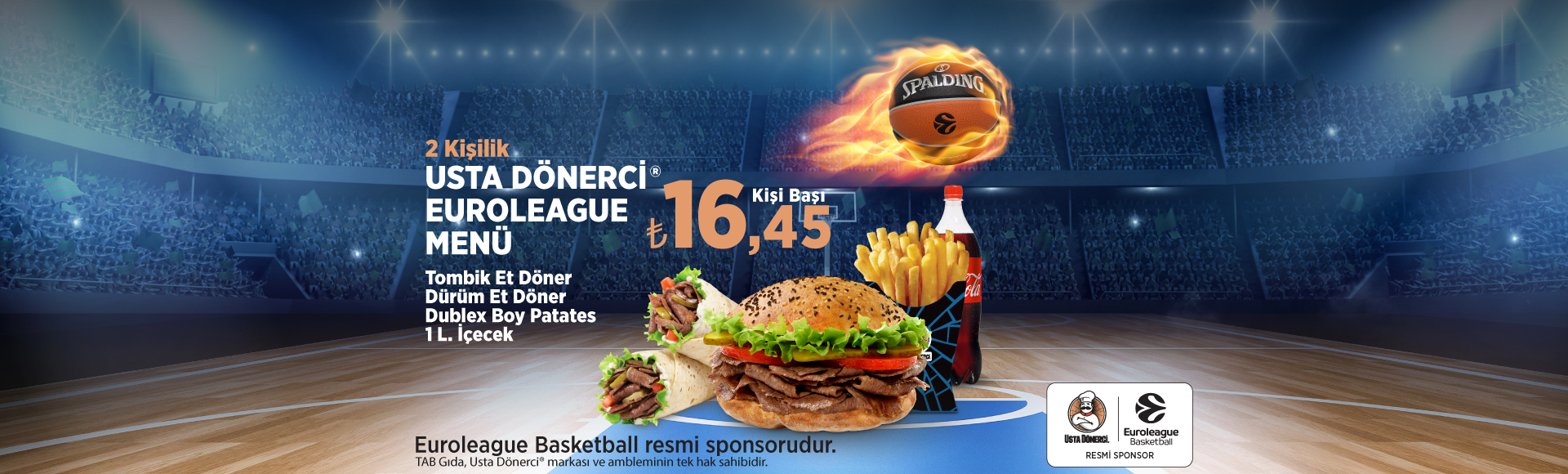 Euroleague MEnü